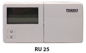 Uhrenthermostat RU 25